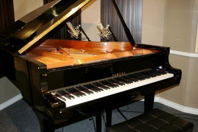 Grand piano recording