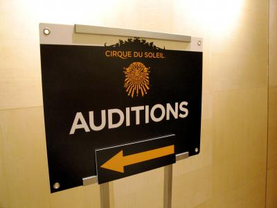 Cirque du Soleil 08' Hong Kong Audition